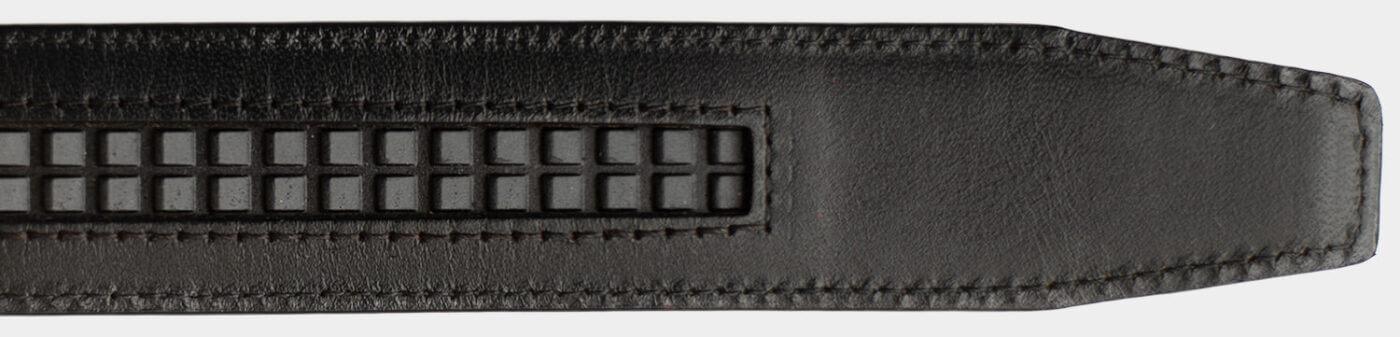 Bagsiden af Nordform remmen med tracksporet